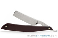 "6/8"" Wade & Butcher Straight Razor Black Cherry Scales 