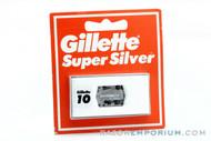 Gillette Super Silver Double Edge (10) - New Old Stock (NOS) Razor Blades