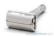 1960 Gillette Flare Tip DE Super Speed Safety Razor F1 | Factory Nickel Revamp