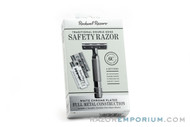 Rockwell 6C White Chrome Adjustable Double Edge Safety Razor