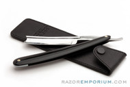 Parker Leather Straight Razor Travel Sleeve