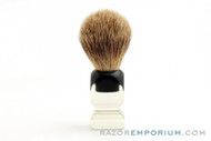 Opal B-498 Pure Badger Shaving Brush - 19mm Pure Badger