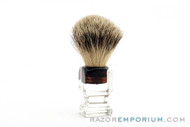 Opal B-304 Pure Badger Shaving Brush - 11mm Pure Badger