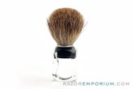 Vintage Pure Badger Shaving Brush Traditional Acrylic Handle