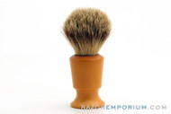 Ever-Ready 750 Pure Badger Shaving Brush -  Set in Rubber