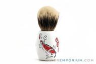 PantaRei Karpa Koi Silvertip Badger Shave Brush- Pre-Owned