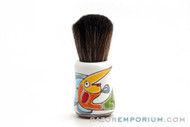 PantaRei Fish in Ceramic Shave Brush Pre-Owned