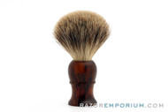 Vintage Badger 21mm Luxury Badger Shave Brush
