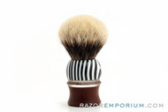 Artisan Shave Brush Badger 25mm Luxury Unique Handle