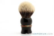 Artisan Badger Black & Jade Shave Brush - 30mm