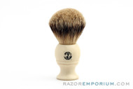 Pre-Owned WSP Monarch | Premium Silvertip Badger Brush | Ivory Handle