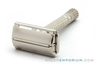 1954 Gillette Flare Tip Double Edge Super Speed Safety Razor | Factory Nickel Revamp
