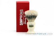 Simpsons Best Commodore X3 Badger Shave Brush