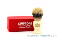 Simpsons Best Commodore X2 Badger Shave Brush