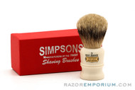 Simpsons The Duke 3 Best Badger Shaving Brush