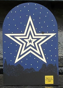 Mill Mountain Star at Night by Cat's Meow
