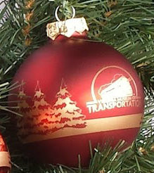 VMT Logo Holiday Ornament Matte Finish