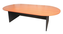 Rapid Worker Oval Meeting Table 2400mm Long
