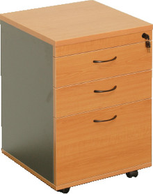 Rapid Worker Mobile Pedestal - 3 Drawer