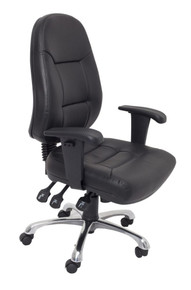 Rapidline PU300 High Back Ergonomic Office Chair