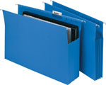 MARBIG EXPANDING SUSPENSION FILES - BLUE - BOX 20