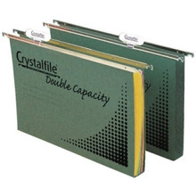 Crystalfile Double Capacity Suspension Files - Pkt/10