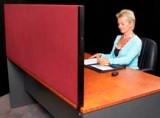 SK Desk Partitions 600mm high x1735mm wide x 30mm deep