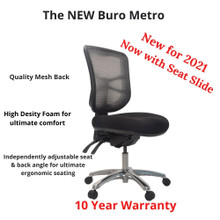 Buro Metro Mesh Back Chair