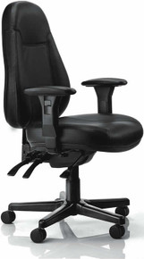 BURO PERSONA EXECUTIVE LEATHER CHAIR