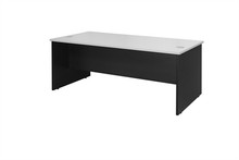 Oxley Desk 1800 Wide X 900Mm Deep X 730Mm High White & Ironstone