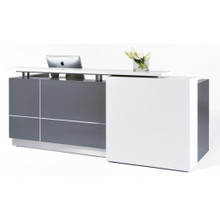 Boston Reception Desk - 2500mm wide