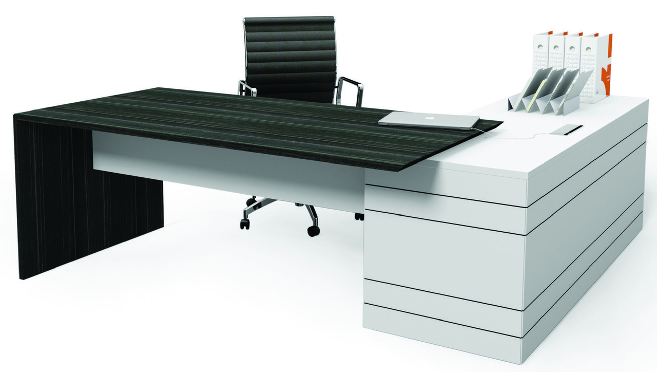 Executive Office Desks Buy The Envoy Executive Desk Amp Return