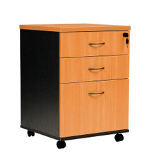 Oxley Mobile Pedestal - 3 Drawer