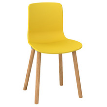 Dal Acti Wooden 4 Leg Chair Yellow