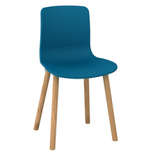 Dal Acti Wooden 4 Leg Chair Ocean Blue