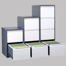 OFD Value 3 Drawer Filing Cabinet - 2 Tone