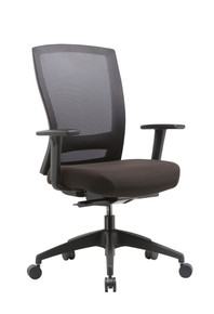 Buro Mentor with Nylon Base and Adjustable Arms