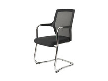 Robin Black Mesh Back Visitor / Meeting  Chair - SET of 4 - on CLEARANCE