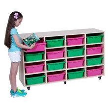 Elizabeth Richards Mobile storage Trolley - 16 Tray