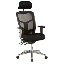 Oyster Mesh Back Office Chair