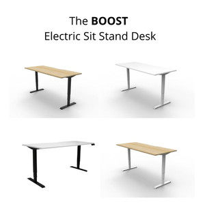 The Boost ElectricSit Stand Desk