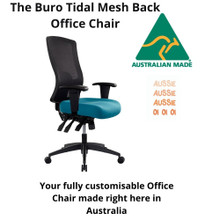 Australian Made Buro Tidal Mesh Back Office Chair