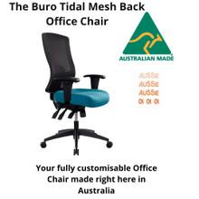 Australian Made Buro Tidal Mesh Back Office Chair