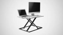 Ergovida Ultra Slim Adjustable Sit Stand Desk EDT-S08.1