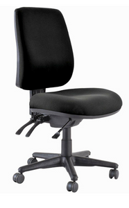 Buro Roma High Back 3 Lever Chair