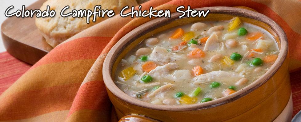 Colorado Campfire Chicken Stew