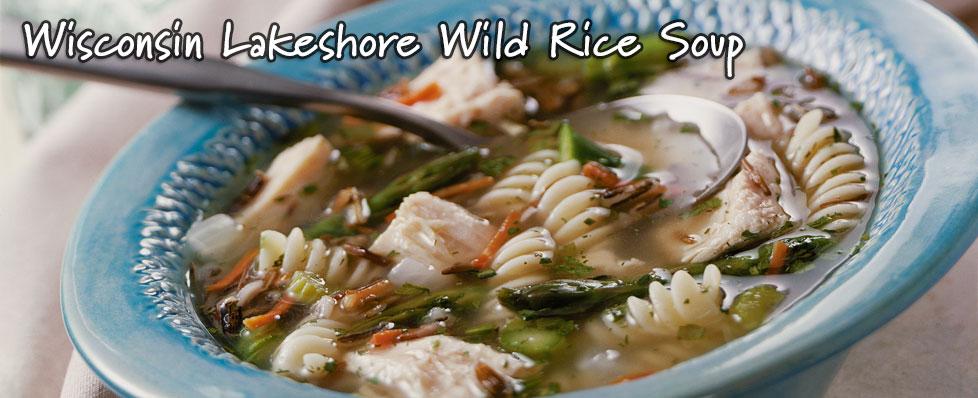 Wisconsin Lakeshore Wild Rice Soup