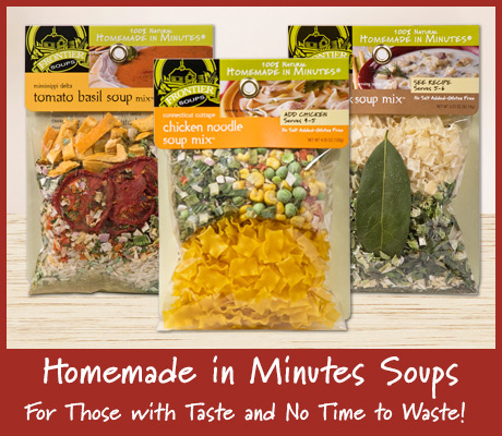 Homemade in Minutes Soups