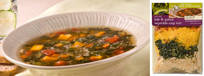 West Coast Kale and Quinoa Vegetable Soup 8-Pack