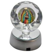 Lampara virgen de Guadalupe/ Virgin Of Guadalupe Lamp.